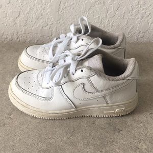 ✅Kids Toddler Nike Air Force 1 White shoes 13.5